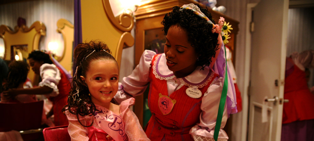 Bibbidi Bobbidi Boutique in the World of Disney Store