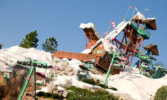 Blizzard Beach Water Park at Walt Disney World Resort.